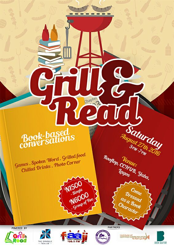 Grill and Read
