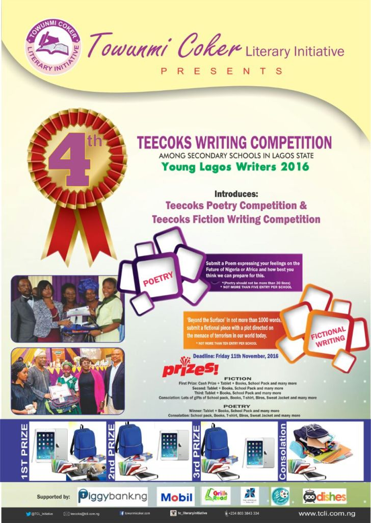 Teecoks writing competition