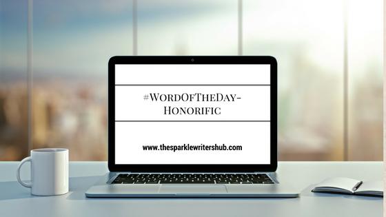 #WordOfTheDay
