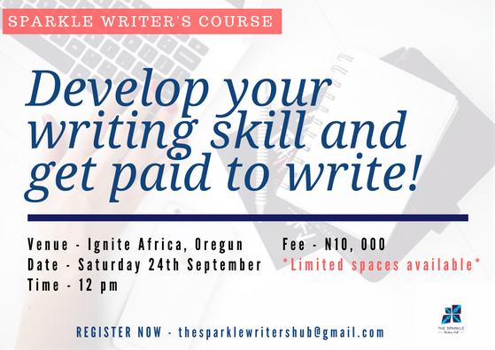 Sparkle Writer's Course