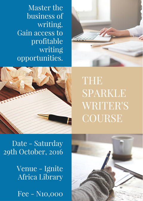 The Sparkle Writer's Course