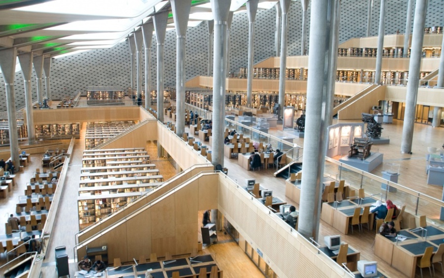 201407-w-most-beautiful-libraries-in-the-world-bibliotheca-alexandrina-egypt